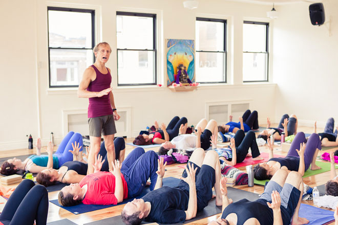 Todd Norian Workshop. Shri Yoga Studio, Montreal, October 21, 2012