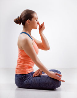 Surya Bhedana Pranayama (Single Nostril Breath)