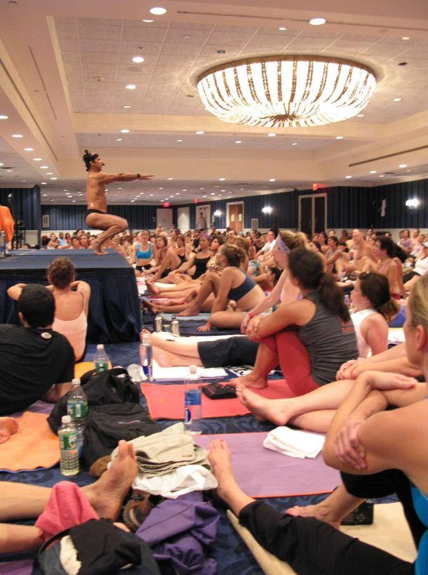 Bikram Yoga Seminar, NYC, Photo: Yaniv Nord