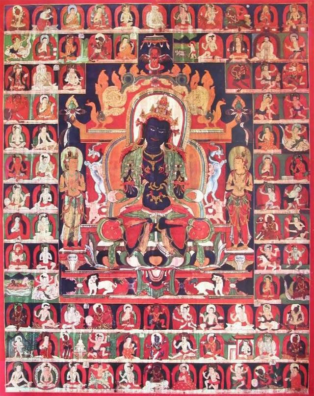 Figure 6. The 84 Mahasiddhas